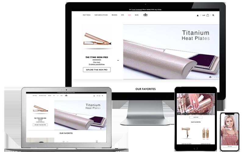 Customer Testimonials Slide - TYME, LLC