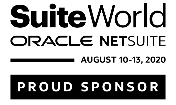 NetSuite SuiteWorld 2020 Sponsor logo, SuiteCentric