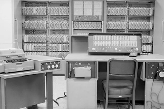 JPLs first digital computer