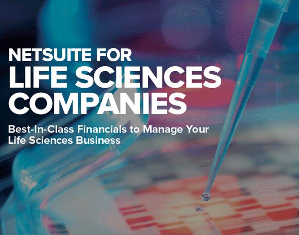 NetSuite for Life Sciences Companies PDF