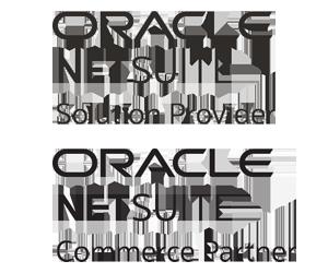 NetSuite Solution Provider, NetSuite Commerce Partner logos, suitecommerce advanced