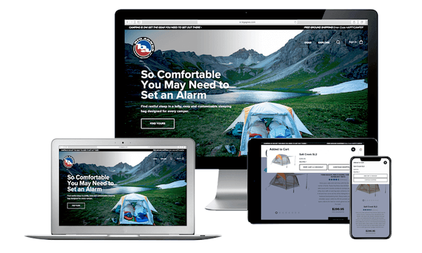 Big-Agnes-NetSuite-website-on-multiple-devices, NetSuite consultants