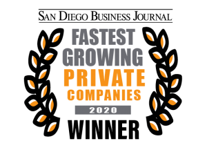 San Diego Business Journal 2020 Fastest-Growing Private Companies Winner, SuiteCentric