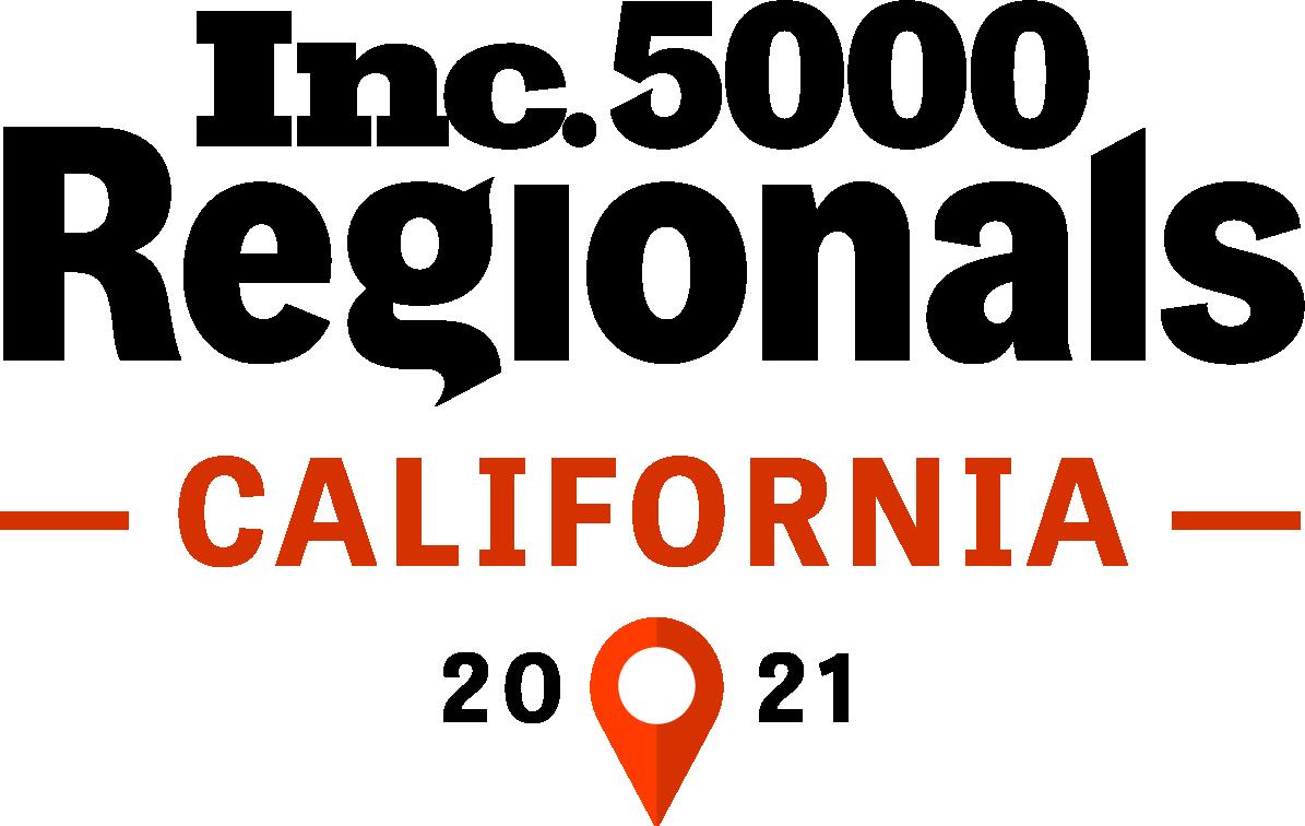Inc. 5000 Regionals California List 2021 logo - SuiteCentric